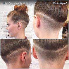 undershave hairstyles girls - Google Search