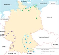 possible Germany Itineraries from: http://www.roughguides.com/destinations/europe/germany/itineraries/