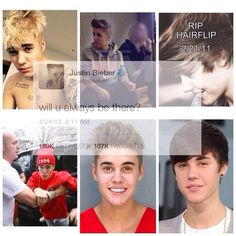 We had so many things, Why leave now? #WeLoveYourNewHairJustin