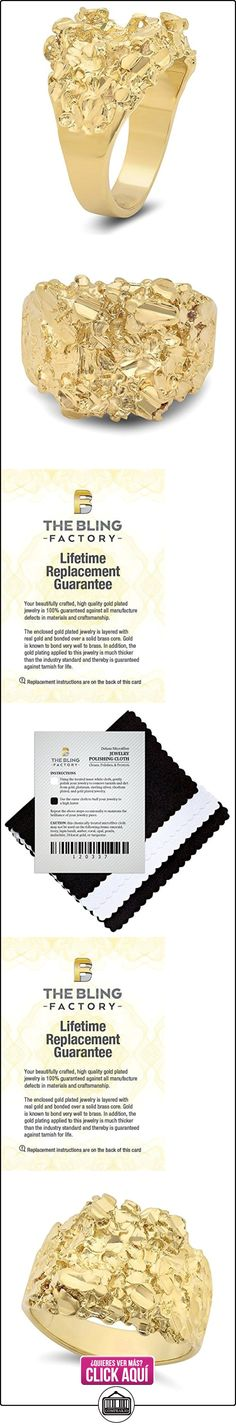 14k Gold Plated Nugget Ring, Size 13  ✿ Joyas para mujer - Las mejores ofertas ✿ ▬► Ver oferta: https://comprar.io/goto/B00NQHDOO8