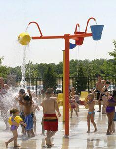 Millennium Park ~~ Trails, Beach, Splashpad, Boating Center ~~ |#Vortex, #Splashpad, #happysplashpadder
