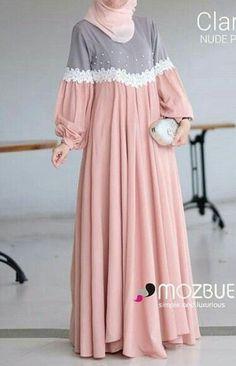 Hijab Style Dress, Modest Fashion Hijab, Abaya Fashion, Fashion Dresses, Hijab Dress Party, Modest Dresses, Stylish Dresses, Simple Dresses, Muslim Women Fashion