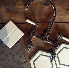 Shower Fixtures, Tile Ideas, Backsplash, Bathroom Ideas, Sink, Mirror, Design, Home Decor, Sink Tops