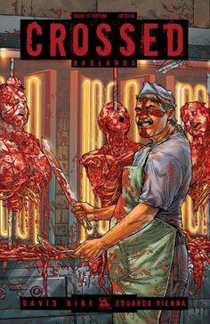 Crossed: Badlands #17 (Torture Cover) #AvatarPress #Crossed #Badlands (Cover Artist: Gianluca Pagliarani)
