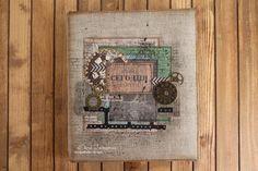 Волшебство на кончиках пальцев: Гранжевый альбом для мужа и об обучении на курсе у Оли Знаменской