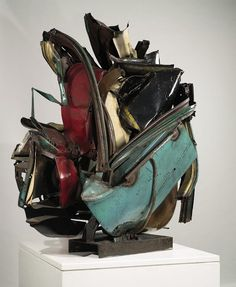 Nutcracker, 1960 by John Chamberlain. Painted and chromium-plated steel, × × cm. Collection of Jacqueline and Mortimer Sackler. © 2012 John Chamberlain/Artists Rights Society (ARS), New York Abstract Sculpture, Abstract Art, Land Art, Art Auction, Installation Art, Art Installations, Artist Art, Abstract Expressionism, New Art