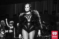Demi Lovato onstage at the iHeartRadio Music Festival at the MGM Grand Garden Arena in Las Vegas on Friday, September 18th, 2015. (Photo: Todd Owyoung for iHeartRadio)