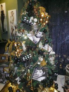 cinema christmas theme decor-at Floral Trade Center by Anna Remoudaki & Konstantina Grigoriou.