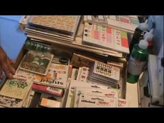 Michaels, Big Lots, and Dollar store Scrapbooking Haul Clearance bin!!! - YouTube