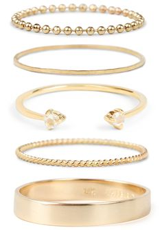 Holiday Giveaway on HonestlyWTF: 5 GOLDEN RINGS from Catbird!