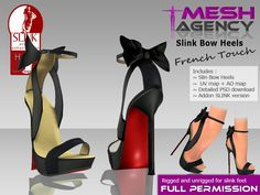 64fc53145ce7a Second Life Marketplace - SLINK HIGH heels