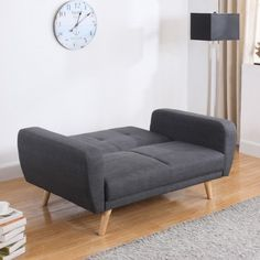 Looking for a new sofa bed? Searching for something that is both practical and sophisticated? Look no further than the Farrow Grey Fabric Sofa Bed. Made perfectly for the modern home or an urban living environment, you won't be disappointed with this choi Grey Fabric, Cool Beds, Contemporary Sofa Bed, Contemporary Sofa, Sofa, Furniture, Grey Fabric Sofa, House Beds, Fabric Sofa Bed