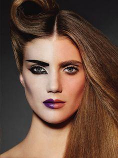 Editorial to love from V Magazine (The Transformation Issue) Make-up: James Kaliardos; Hair: David Von Cannon Photography: Plamen Petkov #vmagazine #makeup #editorial