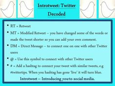 Tip 3 - Twitter decoded