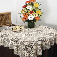 Toalha de Mesa Mercer Crochet