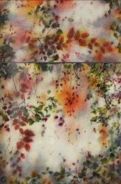Encaustic Joyce Gehl, Forgotten Garden