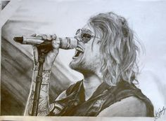 Danny Worsnop ------------------- Drawing By: PengillyProArt