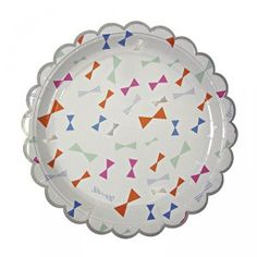 Toot Sweet Bow Pattern Large Plates