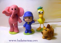 pocoyo grupo by hadastraviesas, via Flickr
