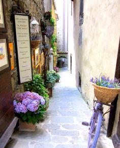 Cortona, Italy.