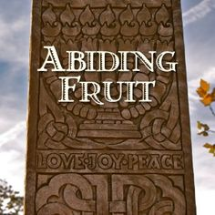 Abiding Fruit (link to the free printable study)