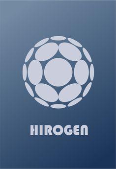 Star Trek Logo Hirogen Flat Design