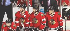 The stress of OT, Hossa and Sharp just sit there, Toews is about to have a breakdown, and Saad is just funny to watch. Love it!