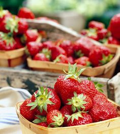 Grow Your Own Strawberries - this is great info on strawberries.  I have four strawberry plants blooming in my garden!  ~Mel @ RaisedUrbanGardens.com