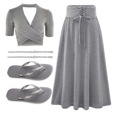 """""""Untitled #2563"""" by fallen-angel-007 on Polyvore featuring Topshop and Havaianas"""