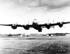 Lancaster low pass, with 3 engines feathered