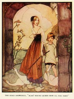 Art of Narrative: Rie Cramer ~ Grimm's Fairy Tales ~ 1927