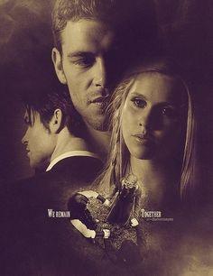 Klaus, Rebekah & Elijah. The remaining Originals. The Vampire Diaries. <3