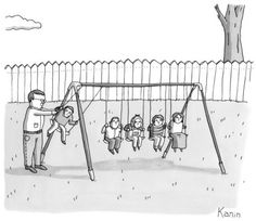 Physicist dad at the playground By Zach Kanin, in the New Yorker...