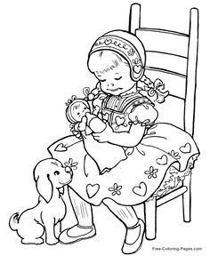 christmas in italy coloring pages - photo#43