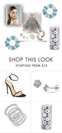 """""""25 Days of Christmas"""" by awlove1 ❤ liked on Polyvore featuring Gianvito Rossi and Cole Haan"""