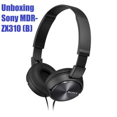 Sony MDR-ZX310 Kopfhörer (Black) | Unboxing | First Look