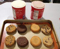 Cody's Test Kitchen: Sort of Homemade Ice Cream Sandwiches