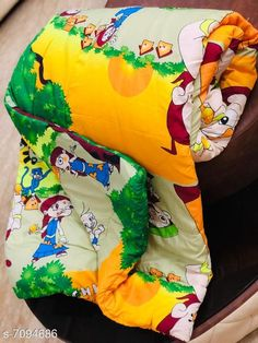 Blankets, Quilts & Dohars New Trendy Single Bed Kids Blanket Fabric: Cotton Multipack: 1 Thread Count: 100 Sizes:  Free Size (Length Size: 100 in, Width Size: 60 in)  Sizes Available: Free Size *Proof of Safe Delivery! Click to know on Safety Standards of Delivery Partners- https://ltl.sh/y_nZrAV3  Catalog Rating: ★4.1 (1242)  Catalog Name: Classic Fancy Blankets CatalogID_1132336 C53-SC1102 Code: 977-7094686-