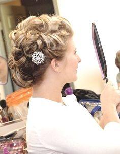 Retro inspired hair by Lisa Leming