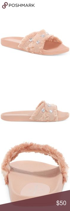 Jessic Simpson Nude Playah Slippers *product details is in one of the photos  *no flaws  make me an offer! or click bundle and i can send you at a personal offer!  any questions? be sure to comment below! Jessica Simpson Shoes Slippers