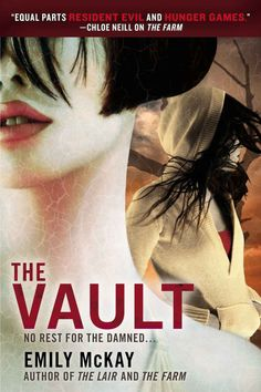 The Vault (The Farm #3) by  Emily McKay (2014) - - - With Lily exposed to the Tick virus, it's up to Mel and Carter to search for the cure. Carter recruits human rebels from the Farm in San Angelo to infiltrate the guarded kingdom of the vampire Sabrina and steal the cure. Mel goes back to her mentor, her friend, her betrayer, Sebastian, who is the only one who can access an underground vault that may house the secret to the cure.