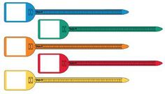1b5f4acfd Write-on flag cable ties are on sale at Label ID Systems. These hand  writable zip ties are the perfect solution for clear and concise on the job  bundling ...
