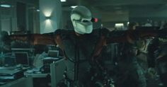 "Deadshot | Suicide Squad. Deadshot be like ""Everybody stand back, I'm getting trigger happy"""