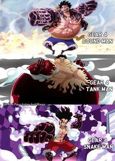 One Piece, Luffy gear 4 Otaku Anime, Manga Anime, Me Anime, Anime Kawaii, Anime Girls, Monkey D Luffy, Luffy Gear Fourth, Luffy Gear 4, One Piece Gear 4