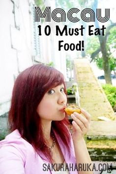This blog is great!!! I will definitely want to try all of them. Macau 2012 | 10 Must Eat Food & Where to Find Them!