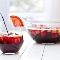 You don't need an expensive wine to have a good glass of Sangria, so go ahead and use that cheap bottle you have been hiding at the kitchen #foodgawker