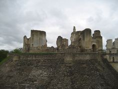 Ruins of Chateau de Fere - Fere en Tardenois, France
