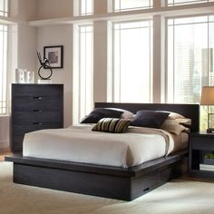 Have to have it. Metropolitan Storage Platform Bed $1099.98