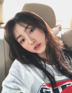 Pin on ulzzang Korean Makeup Look, Korean Beauty, Asian Beauty, Pretty Korean Girls, Cute Korean Girl, Uzzlang Girl, Girl Face, Girl Korea, Ulzzang Korean Girl