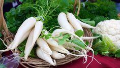 Das weiße Biergarten-Gemüse